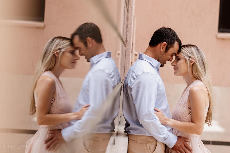 romantic engagement reflection windhoek