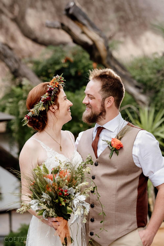 bridal couple looks