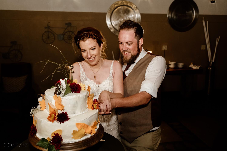 wedding couple cake
